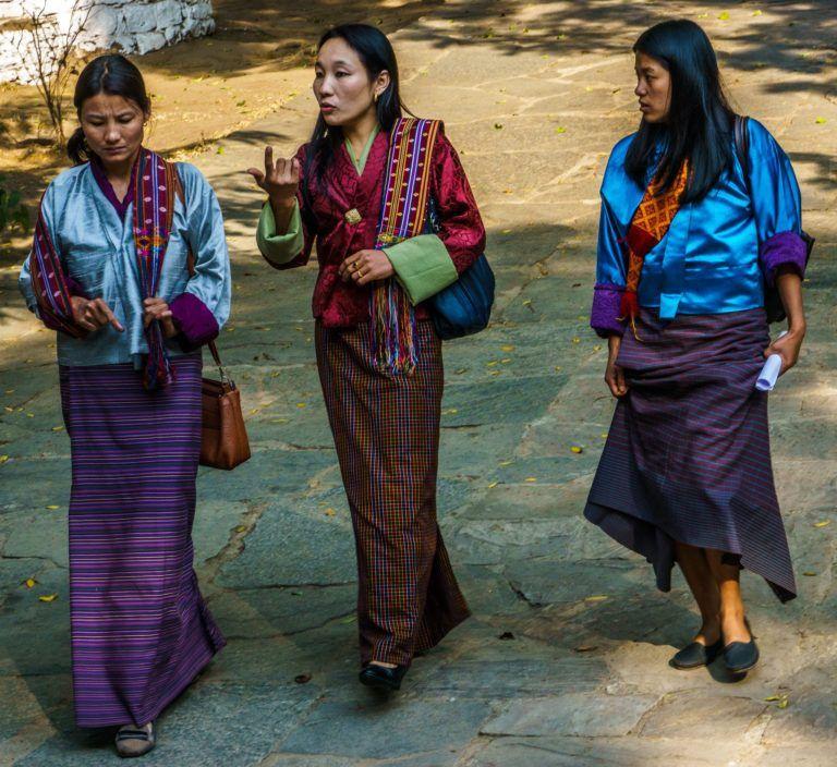 In Photos Beautiful Bhutan Bhutan Bhutanese Clothing Photo