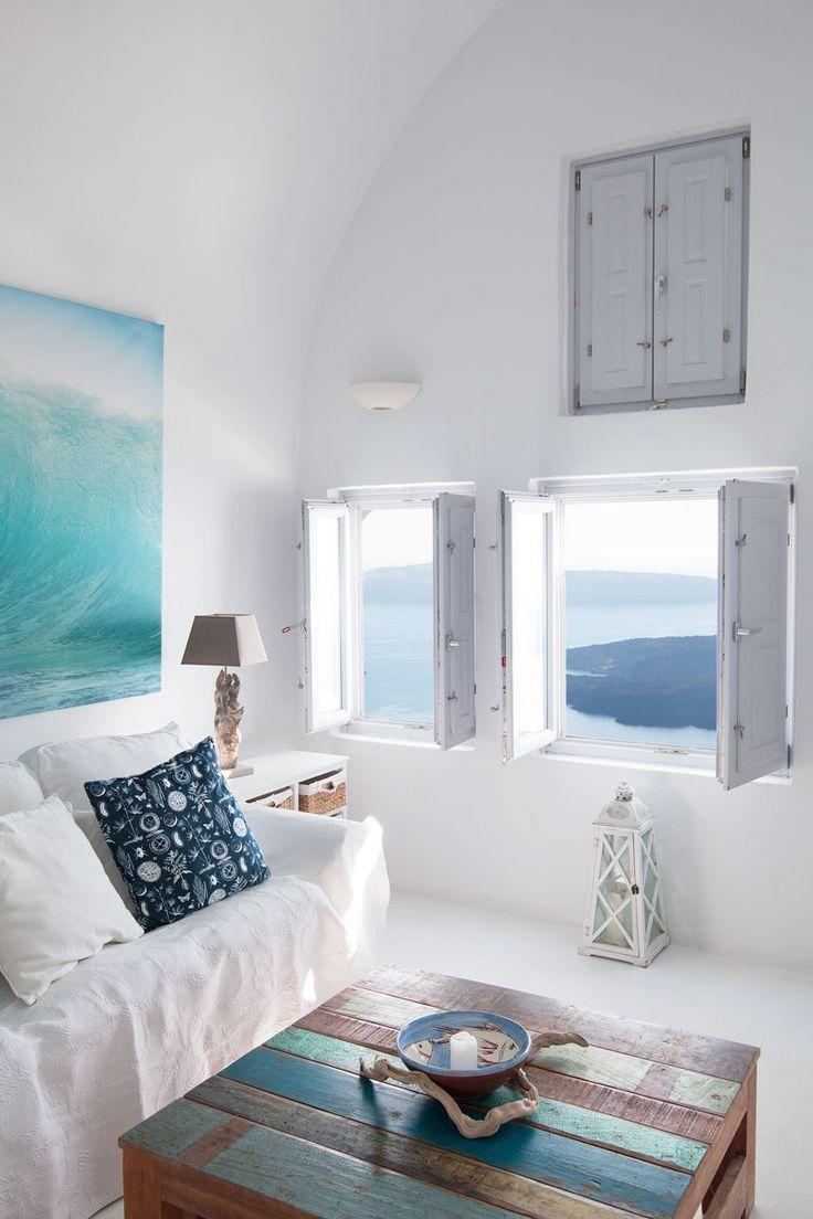 Case E Stili Design villa gaia santorini accommodation | salotti stile coastal