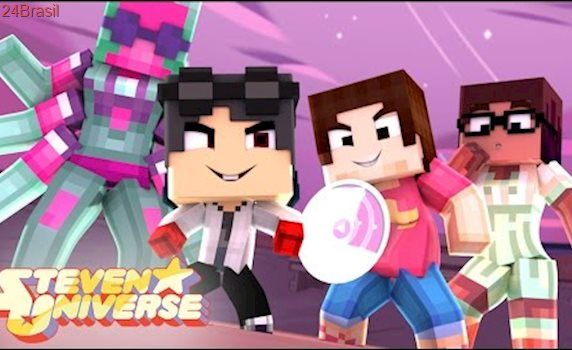 Minecraft: Who's Your Family? - A FAMÍLIA PODEROSA DO STEVEN UNIVERSE