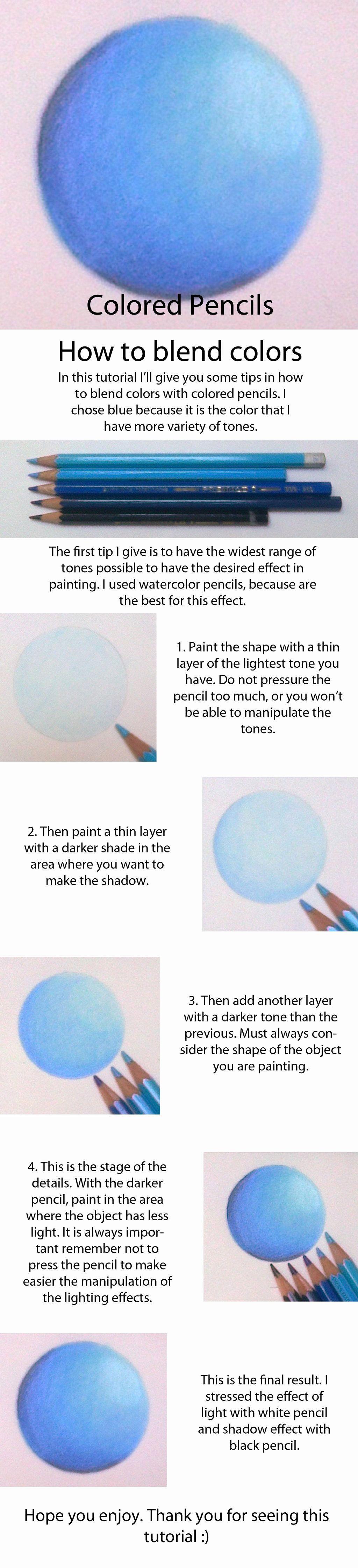 Coloring Techniques Colored Pencils