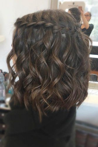 Learn How to Do a Waterfall Braid | LoveHairStyles