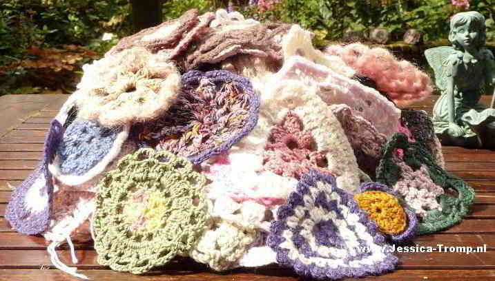 51 Free Crochet Flower Granny Squares Plus Earrings And Roses All
