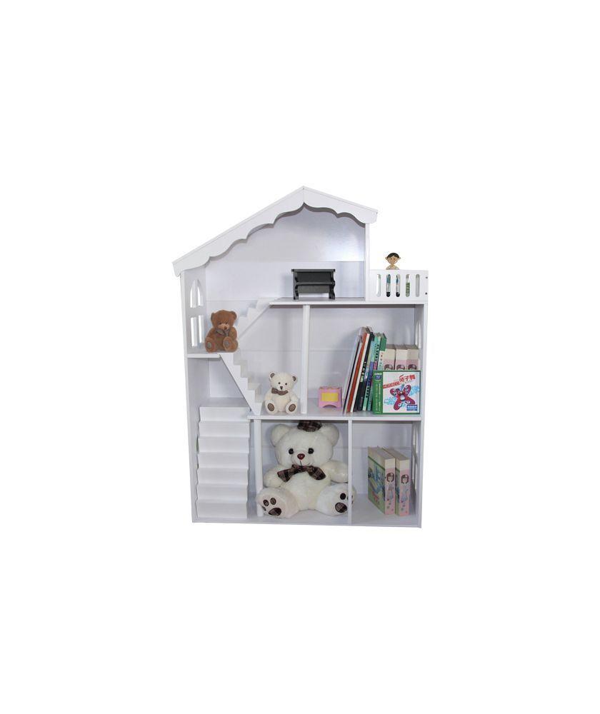 Dolls house at argos co uk your online shop for dolls houses dolls - Buy Liberty House Toys Doll House Bookshelf Balcony White At Argos Co Uk