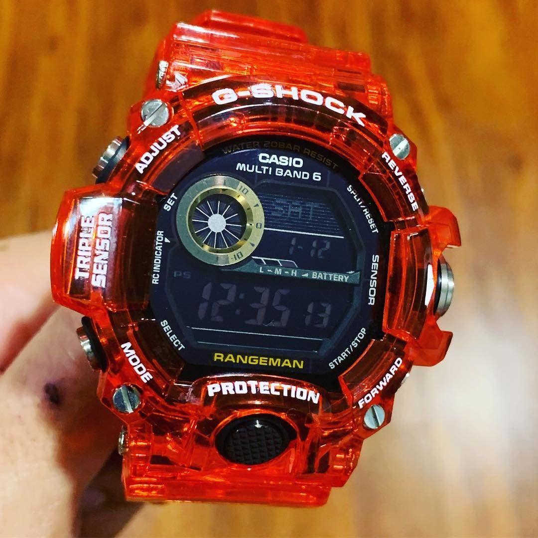dbc0dbaf627da0 Triple Sensor Custom Murakami Red Rangeman in 2019 | Timepieces | G ...
