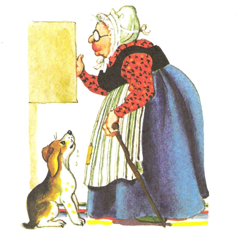 Old Mother Hubbard poem Old Mother Hubbard Went to the ...