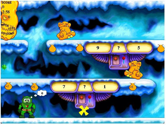 Math Blaster With Images Educational Computer Games Game