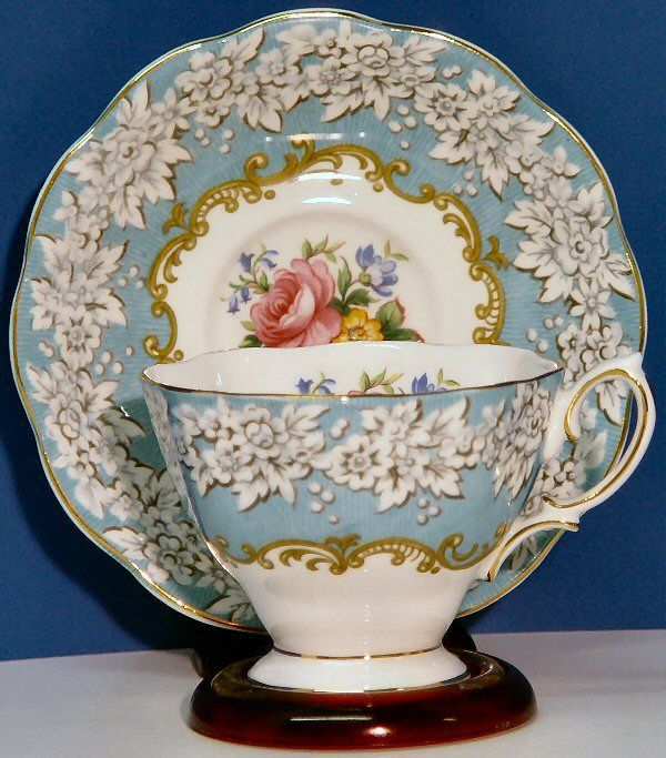 Cup & Saucer by Royal Albert