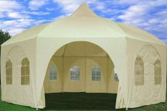 Used Party Tents For Sale >> Used Wedding Tents For Sale Shade1 20x20 Octagonal