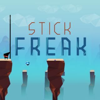 Stick Freak - http://www.funtime247.com/arcade/stick-freak/ - Become the ultimate Stick Freak! In this challenging arcade game you need to prove your skills. Help the tiny ninja to reach platform for platform and collect all shiny gems. Get the highest score and unlock all Stick Freaks!