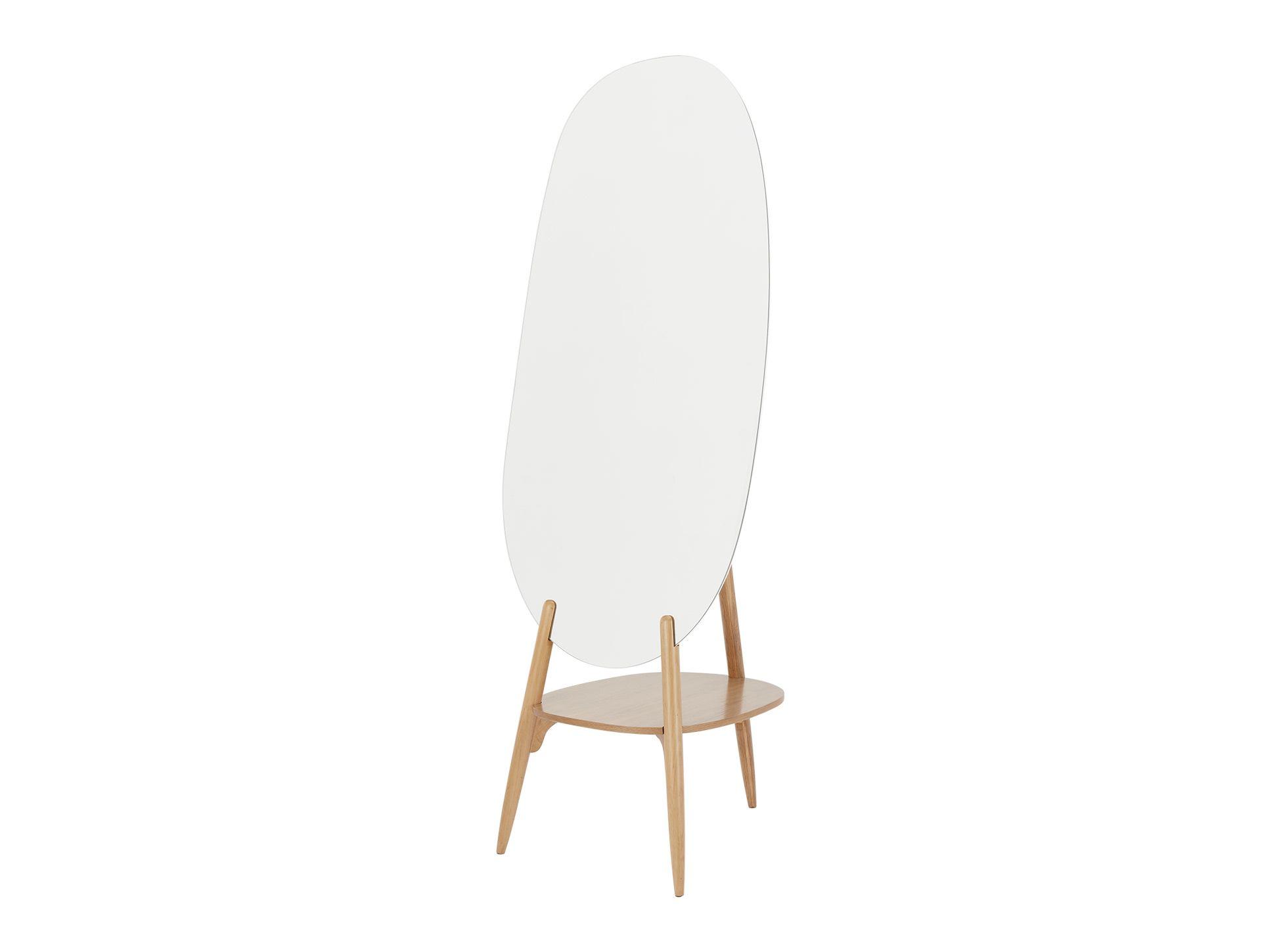 Staande Spiegel Ikea : Coco staande spiegel met rek eiken fresh house spiegel staande
