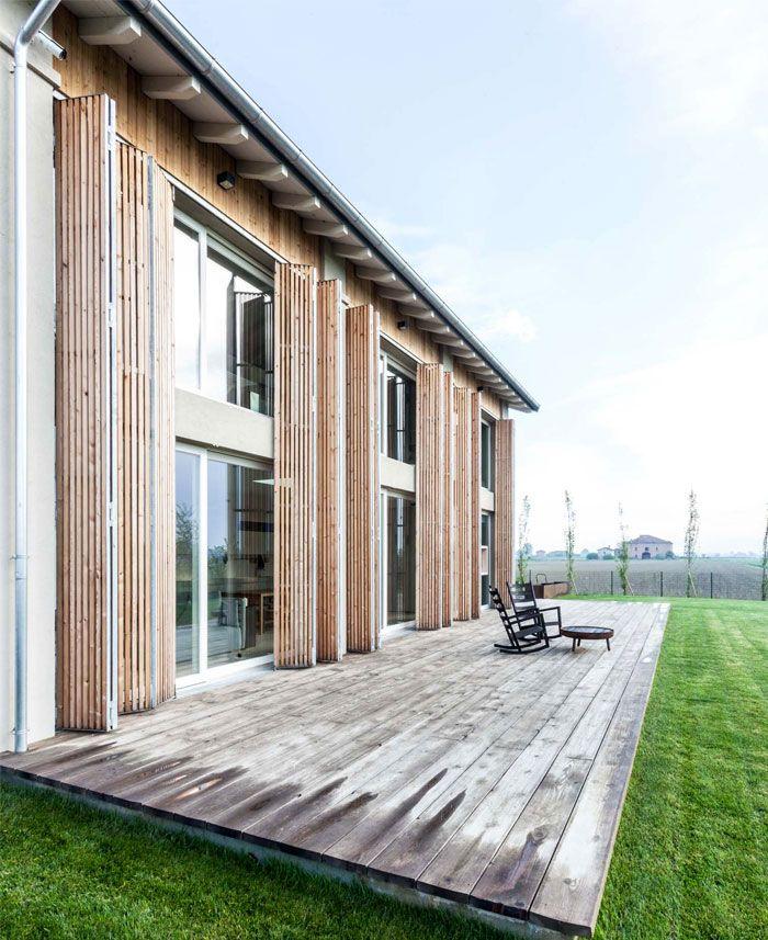 id es pour r nover et transformer une ancienne grange architecture pinterest terrasse bois. Black Bedroom Furniture Sets. Home Design Ideas