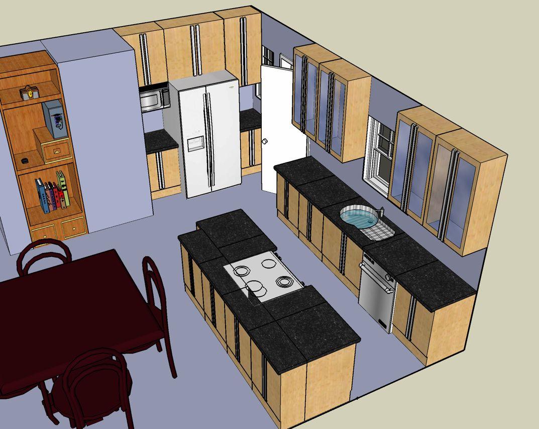 Kitchen Layout Design   Kitchen designs layout, Small kitchen ...
