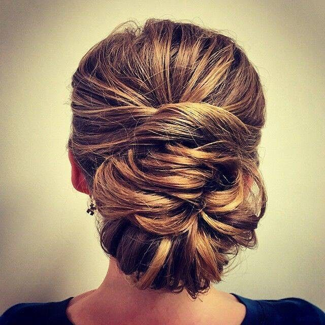 Wrap it up! This twisted updo ends the weekend on a high note. #byMario Photo Credit: @FaithRStylistMT at #MarioTricociHawthorn
