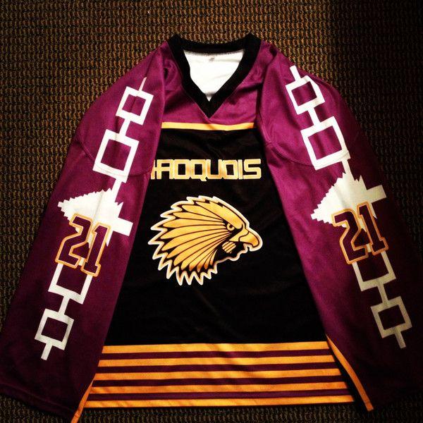 Iroquois Nationals Box Jersey Lacrosse Box Lacrosse Lacrosse Jersey