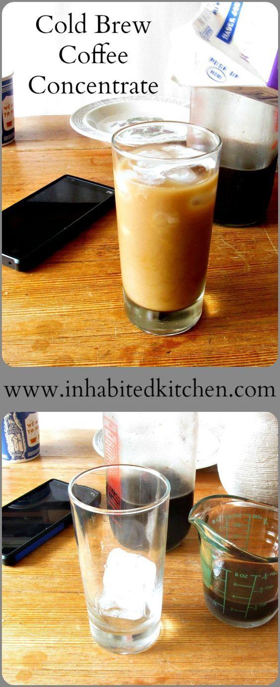 Cold Brew Coffee Concentrate Recipe Cold brew coffee