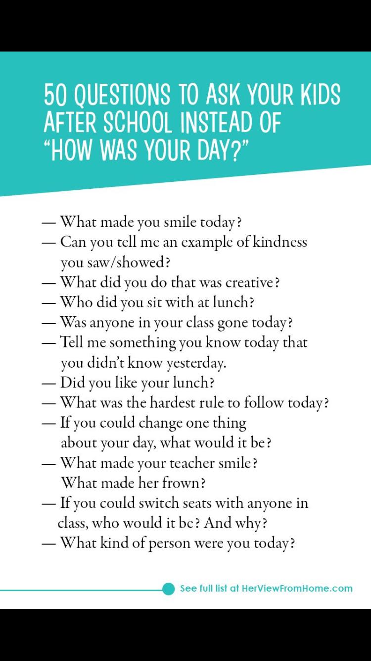 Pin by Kelly Nyman on School - Preschool ideas   Questions ...