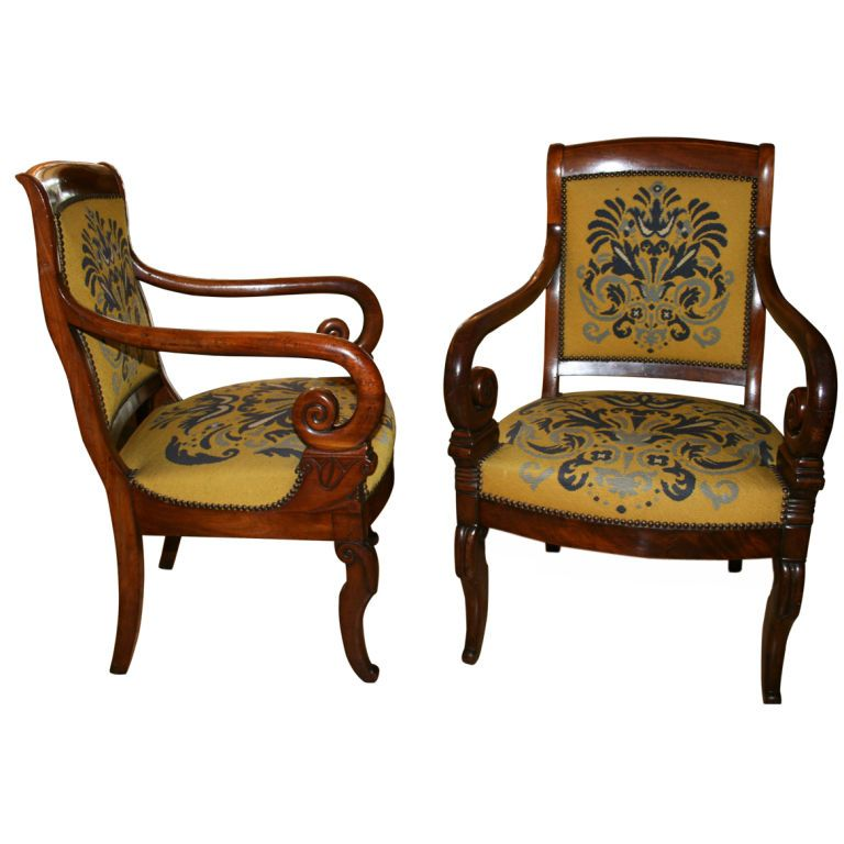 french ghost chair with arms