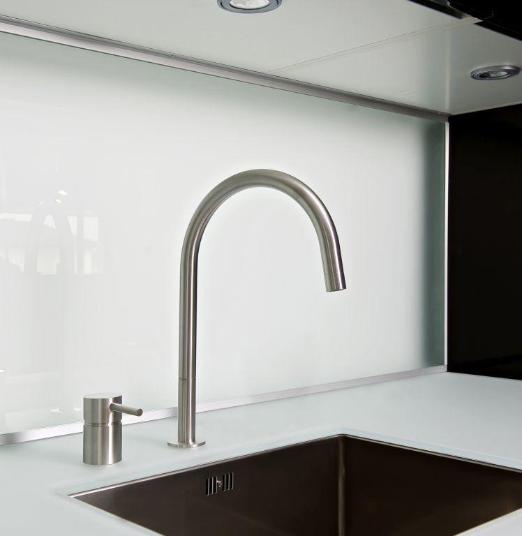 5 Advantages Of Separate Kitchen Faucet Controls Abode Kitchen Faucet Kitchen Soap Dispenser Sink Soap Dispenser