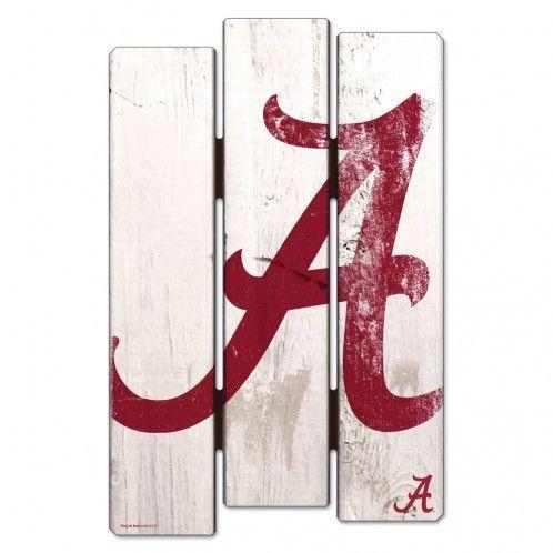 Alabama Crimson Tide Wood Fence Sign. Alabama BedroomAlabama DecorAlabama  ...
