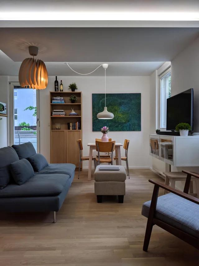 Living room in my 1st flat [Maribor, Slovenia