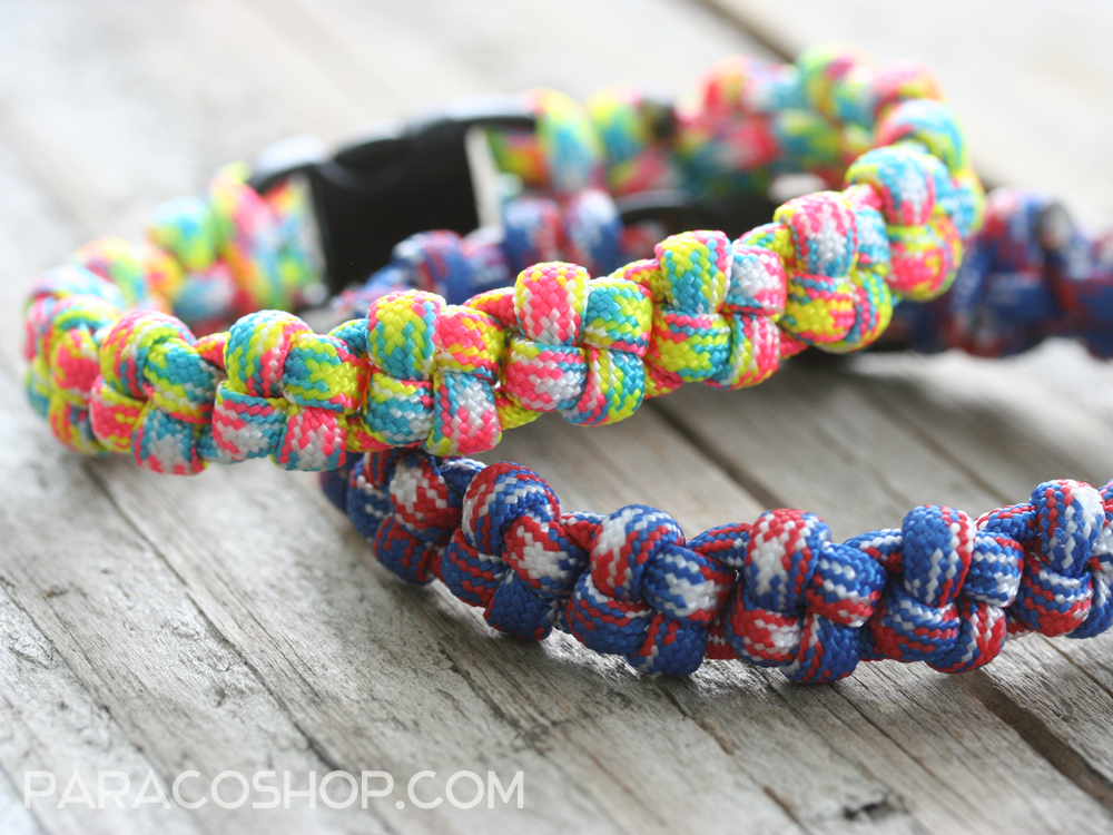 Crown knot bracelets one of our unique stylish weaves for Things made out of paracord