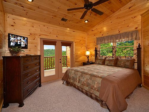 bedroom new by the rental cabin sleeps of king cabins mountain brand