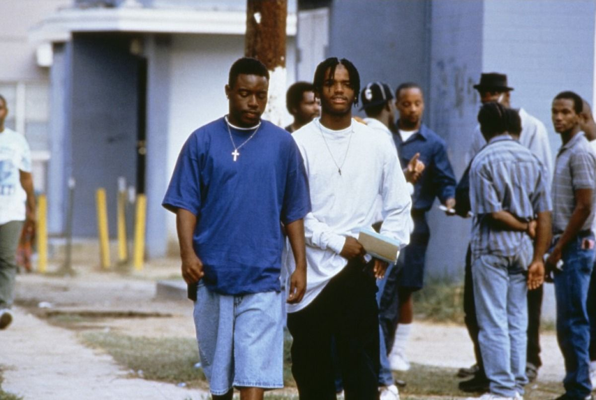 Baggy South Central Streetstyle In Menace II Society, 1993