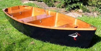 Flat Skiff- easiest boat to build according to them. For the first ...