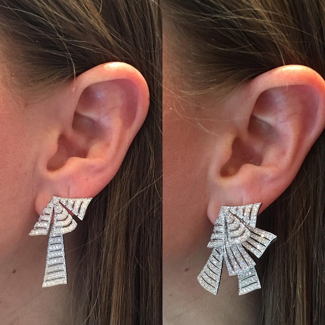 Tapper S Diamonds Jewelry Tappersjewelry On Instagram Multi Functional Earrings Diamonds Multifunctio Beautiful Diamond Earrings Artsy Jewelry Jewelry