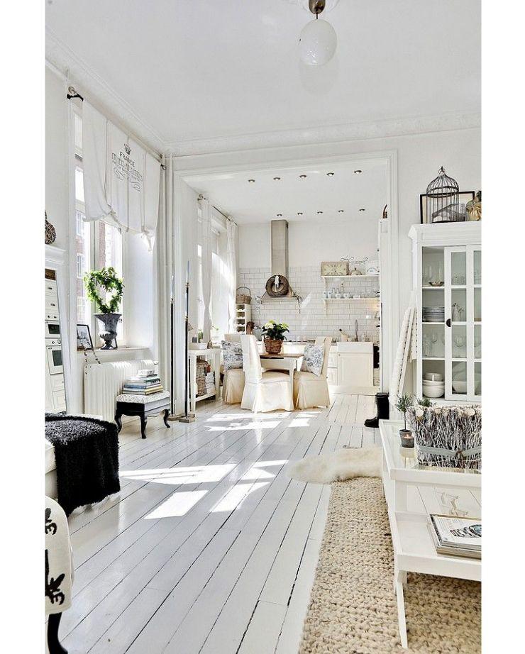 Beroemd 14x de charme van een witte houten vloer | Keizerskroon | Witte &XU55