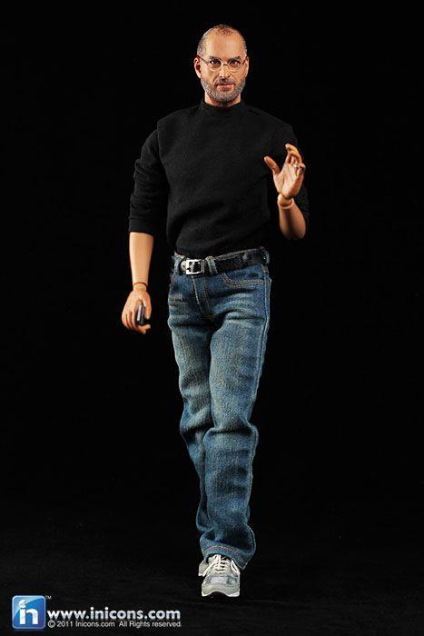 Minicraft 1//6 Scale CEO Steve Jobs Action Figure Shoes