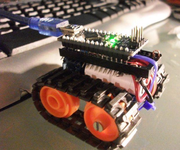 Arduino nano based microbot diy pinterest best