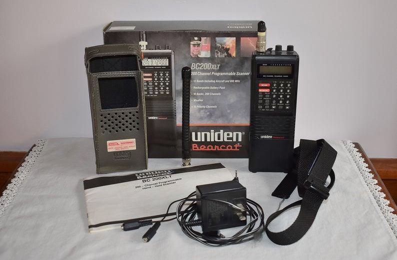 Hand Held Programmable Scanner, Uniden Bearcat BC 200XLT