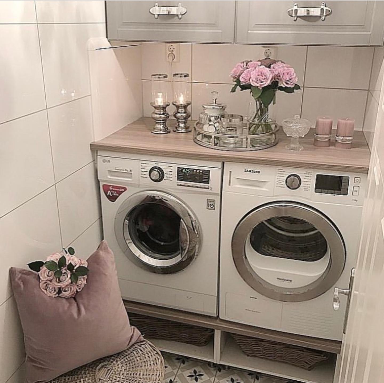 small but elegant laundry room.  Laundry room storage, Elegant