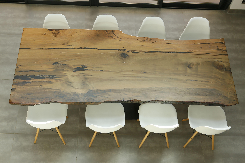 Table En Kauri Table Tronc Bois Massif Table Bois Table Basse Bois Mobilier Design