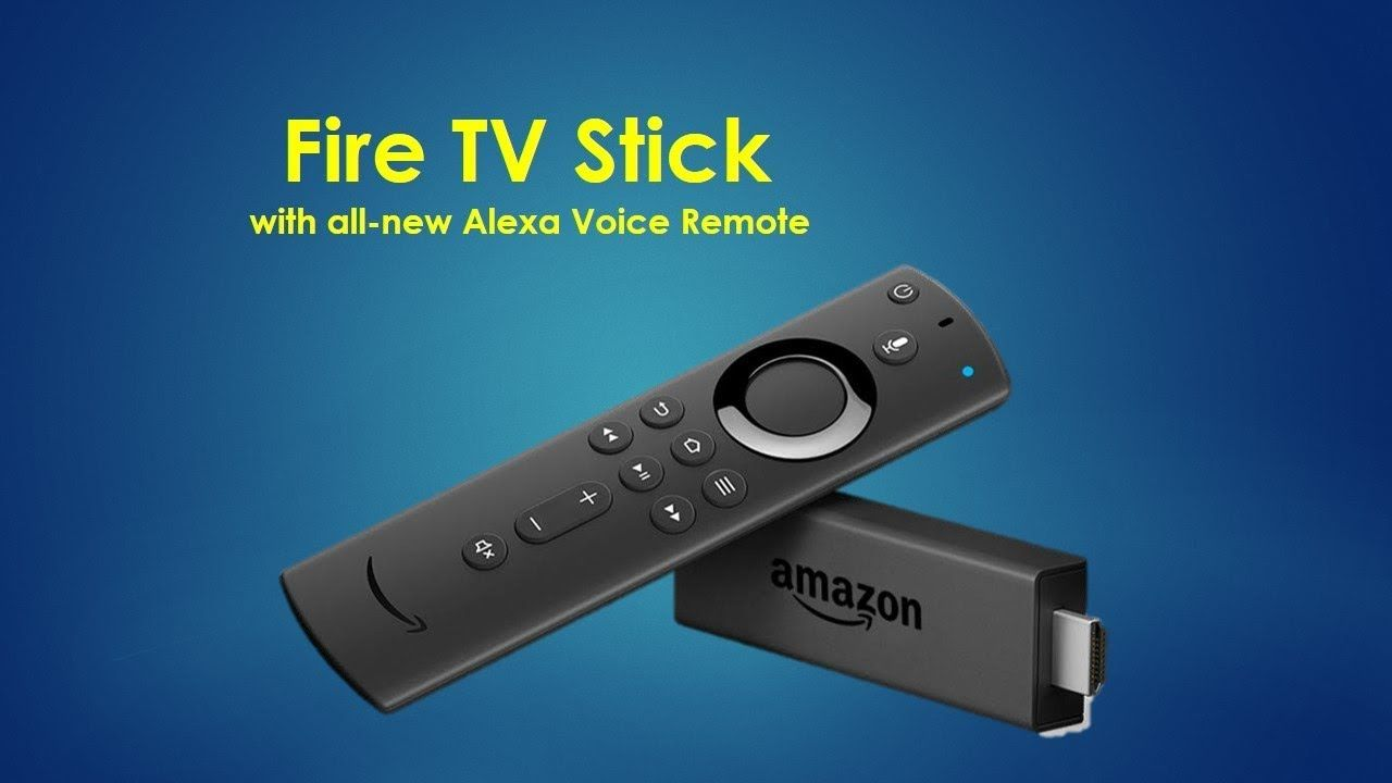 Fire TV Stick with all new Alexa Voice Remote New