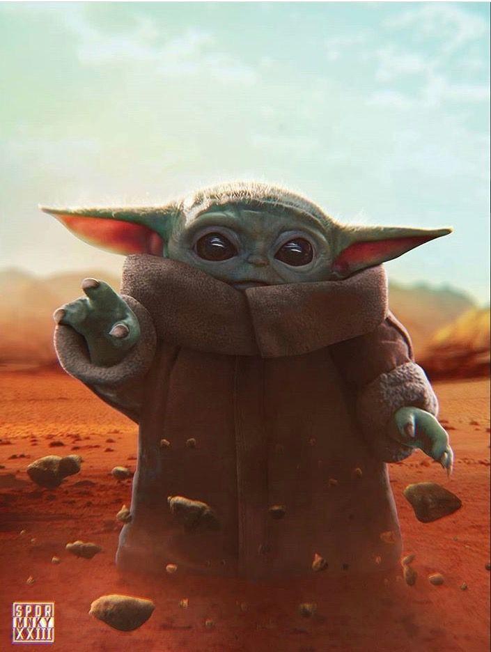 Pin By Hjordis Creel On Star Wars Star Wars Images Star Wars Pictures Star Wars Poster Baby yoda wallpaper iphone xr