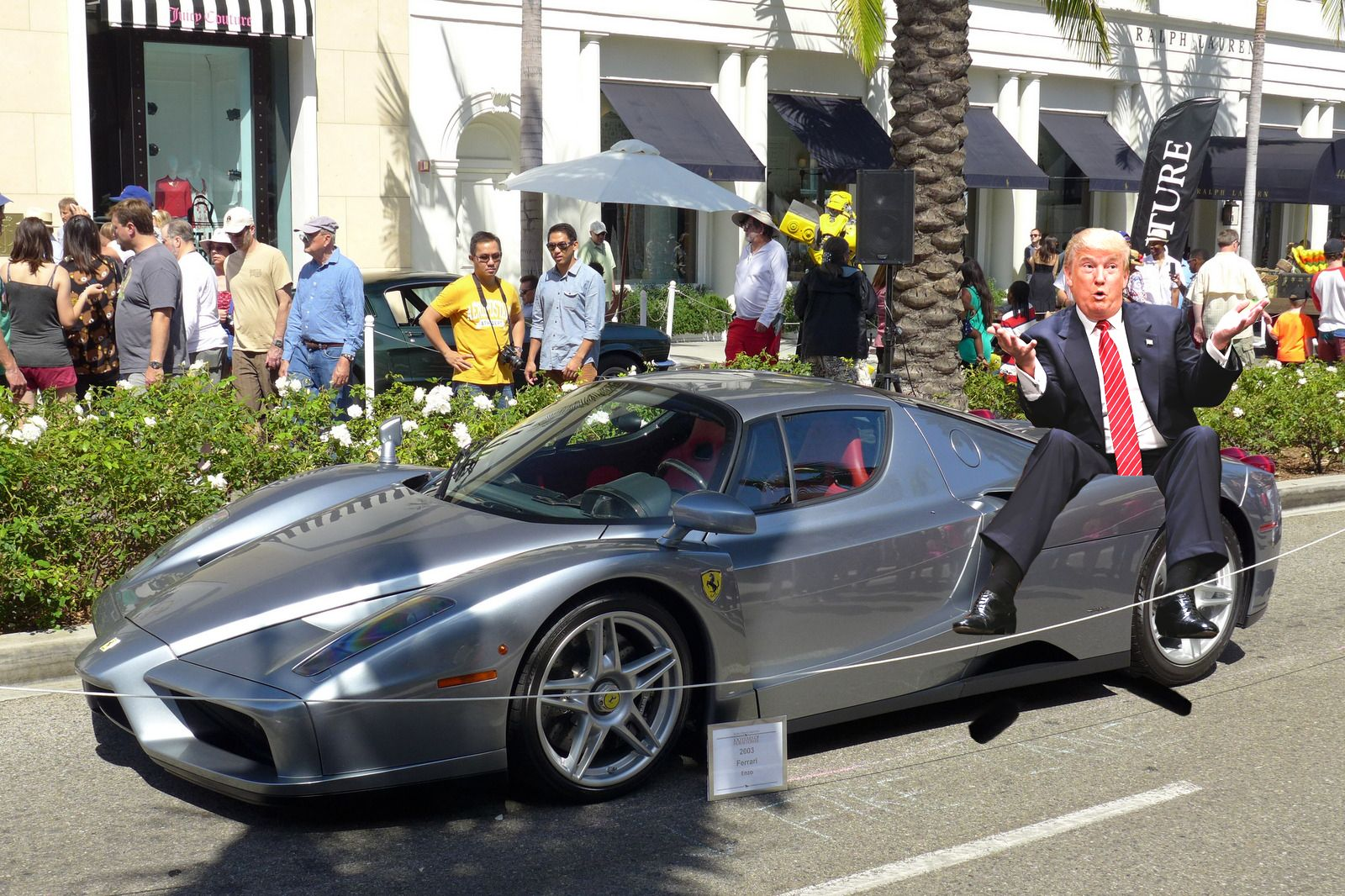 trump in a car new used car reviews 2018. Black Bedroom Furniture Sets. Home Design Ideas