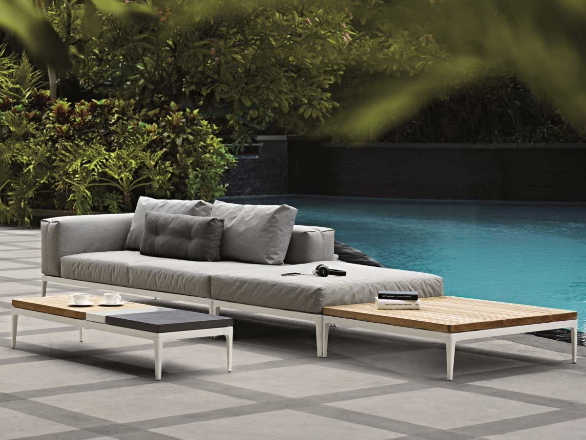 Gloster Grid Set 2 Kaufen Im Borono Online Shop Gartenmöbel