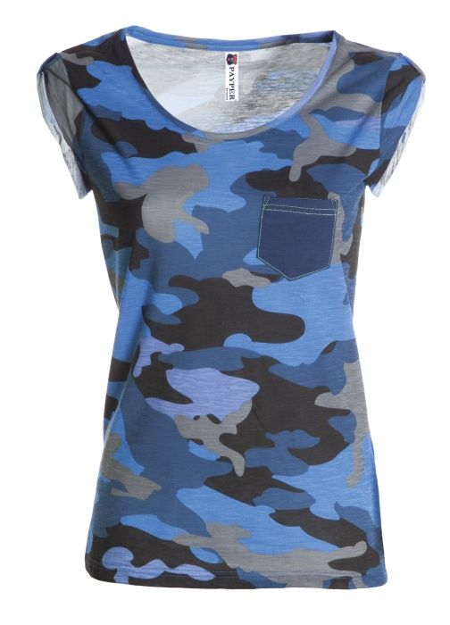 1b06feca8bbb Pextex.cz - Dámské triko s krátkým rukávem Discovery Pocket Lady PAYPER