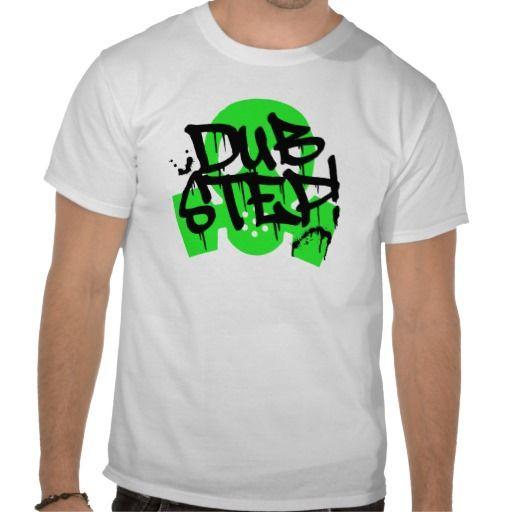 Dubstep Green Gasmask Music T-shirts
