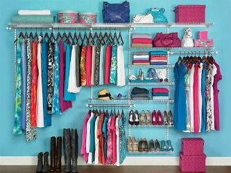 This Closet Kit From Rubbermaid Is Perfect For Utilizing Your Closet Wall  Space To Organize And