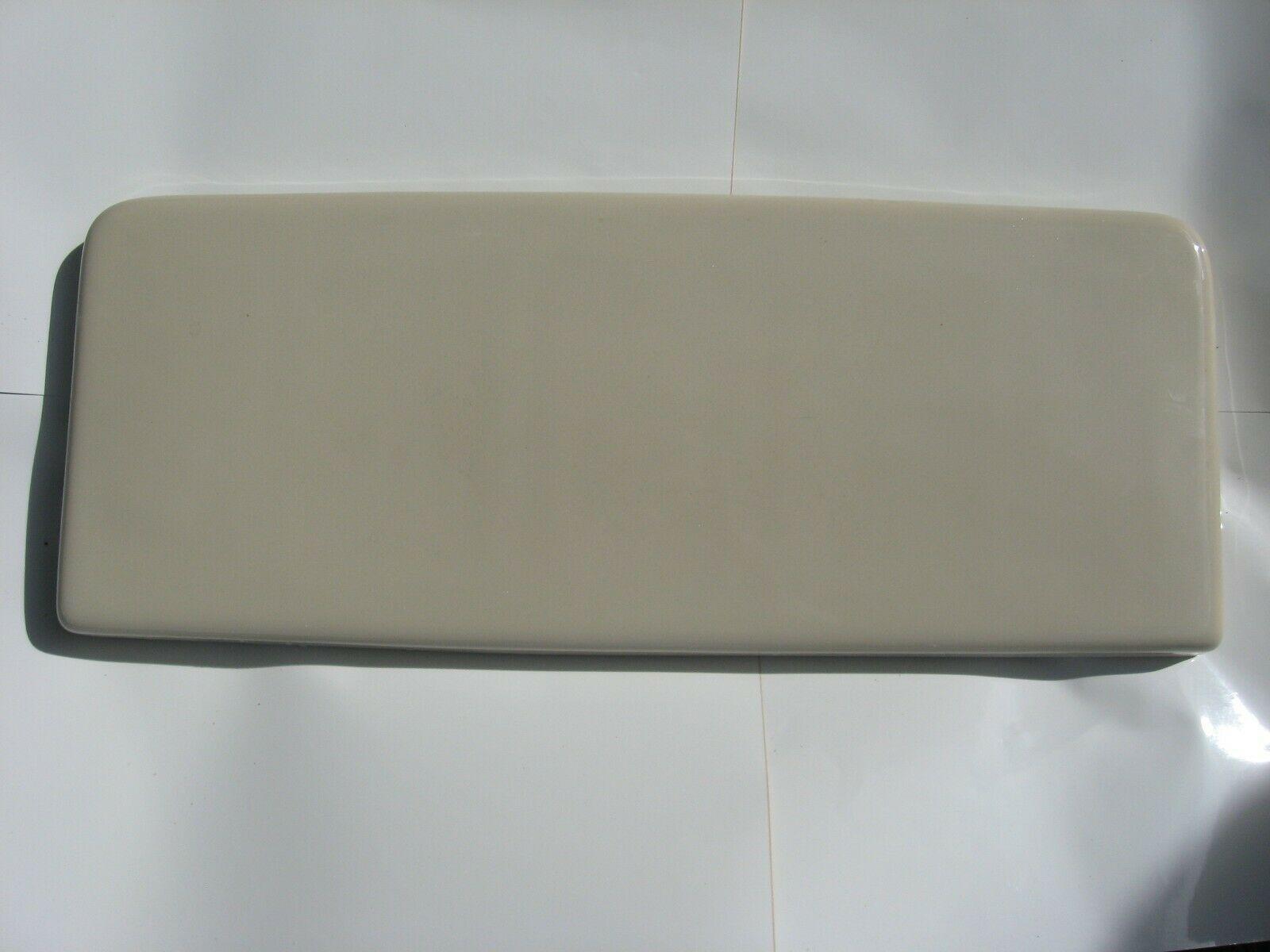 Kohler parchment dark almond toilet tank lid k4556 k