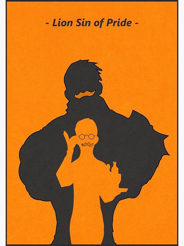 Escanor : Lion Sin of Pride Poster