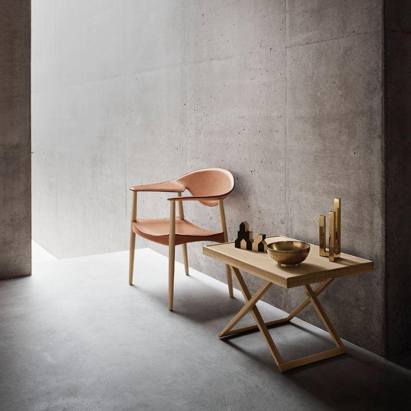 Folding Table By Mogens Koch   MK98860   Carl Hansen U0026 Søn