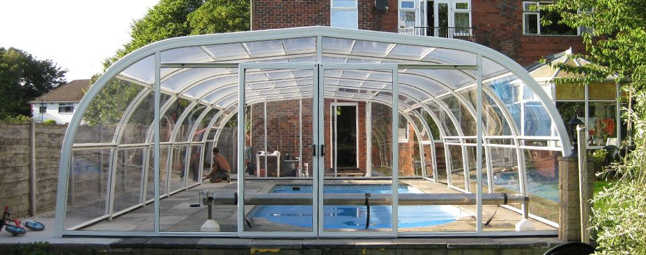 Swimming Pool Enclosures Swimming Pools Garden Swimming Pool In Ground Pools Swimming Pool Enclosures