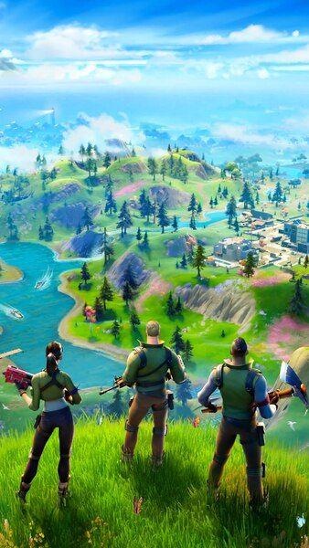 Fortnite Chapter 2 Season 1 Map 4k Hd Mobile Smartphone And Pc Desktop Laptop Wallpaper 3840x2160 Iphone Wallpaper Mobile Wallpaper Best Gaming Wallpapers