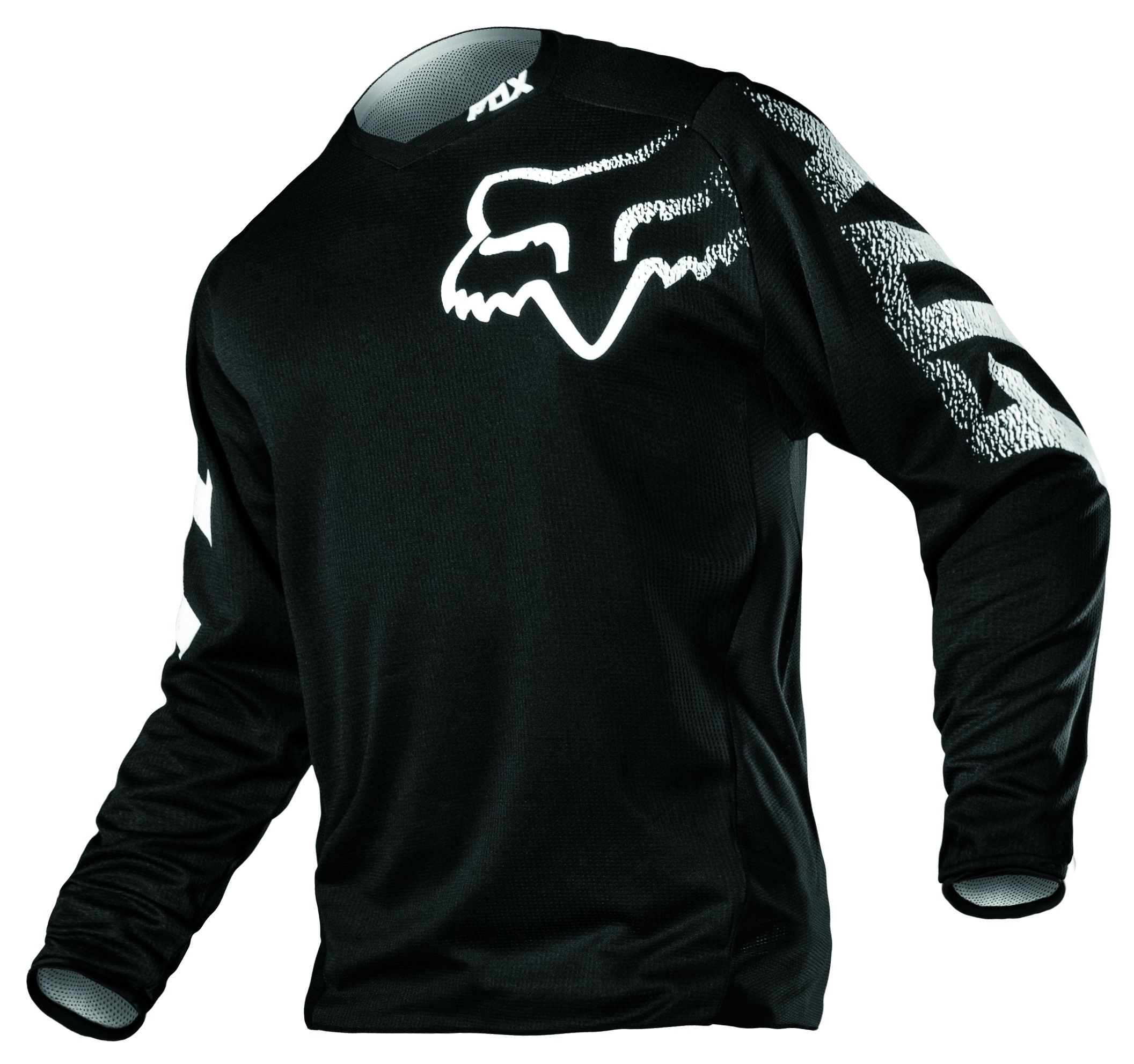Flexible Style In A Full Function Chassis The Top Selling Blackout Jersey Can Be Paired With Your Favorite Pant Dirt Bike Gear Fox Racing Clothing Fox Racing