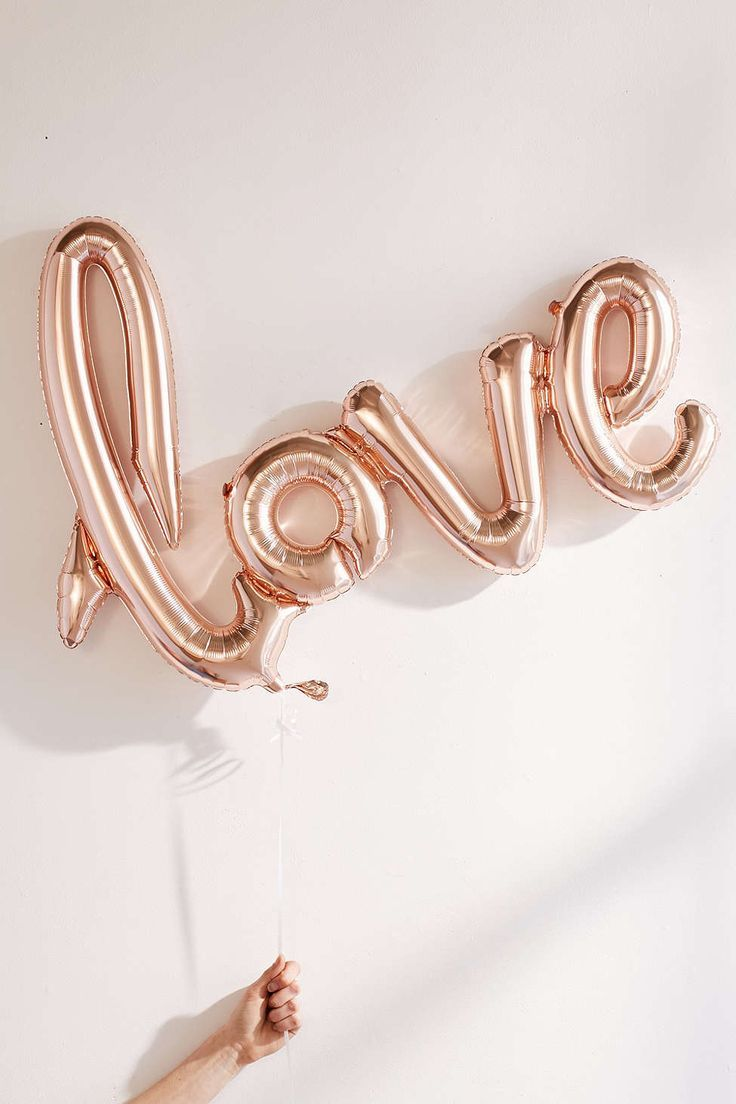 Rose Gold Kærlighed Balloon Be My Valentine Rose Gold-4488