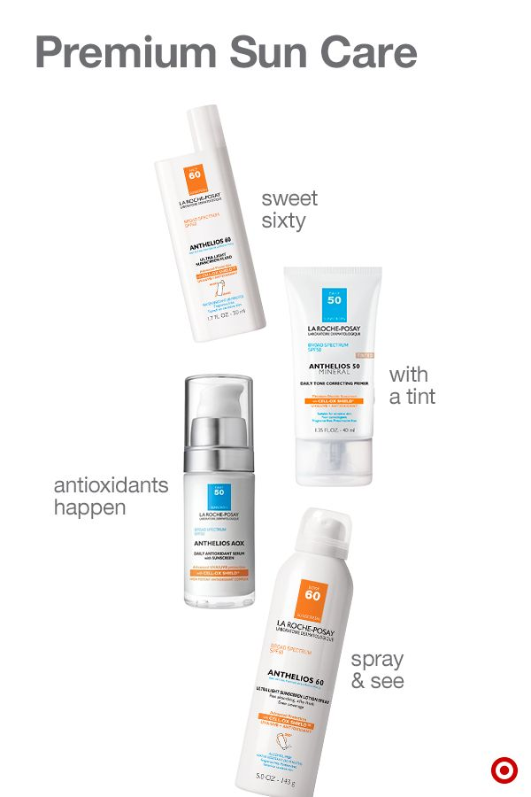 Anthelios Premium Sunscreen From La Roche Posay Shines With All